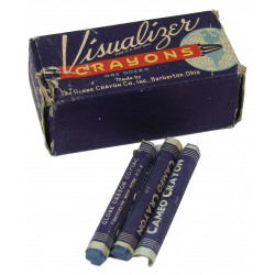 Crayon, Blue Visualizer Map with box