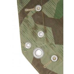 Zeltbahn, Camouflaged Poncho, Splinter, named