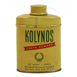 Powder, Tooth, Kolynos