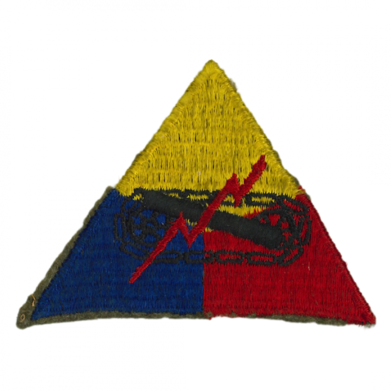 Patch, HQ Armored Forces and Bn., Omaha & Utah Beach