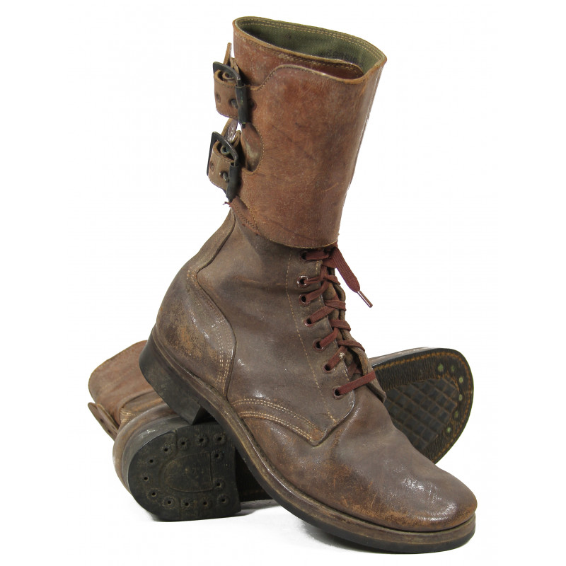 Boots, Service, Combat (Buckle Boots), 8D, Named