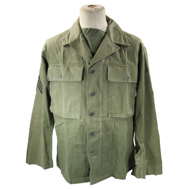 Jacket, HBT (Herringbone Twill), US Army