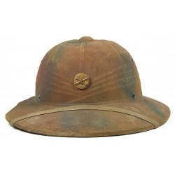 Helmet, Fiber, US Army, Coast Artillery, Camouflaged