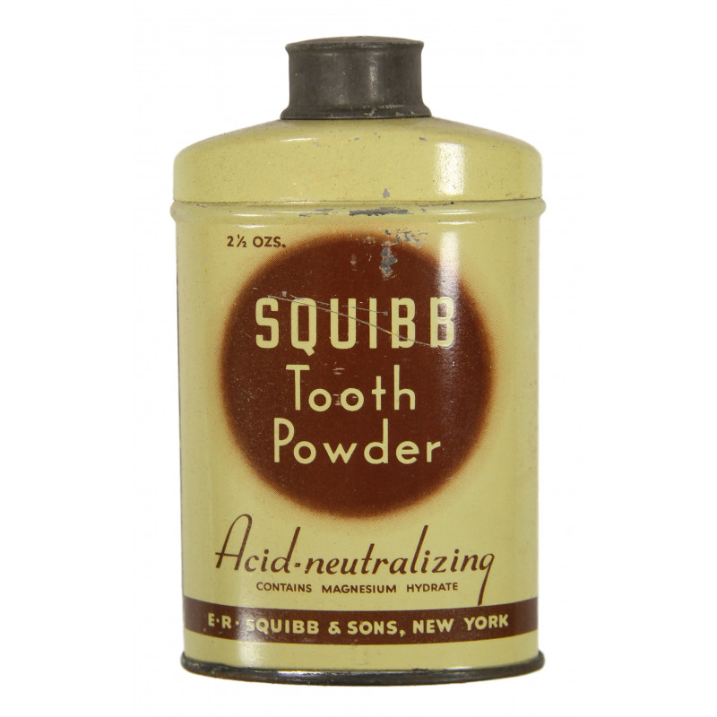 Powder, Tooth, Squibb