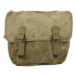 Bag, Field, M-1936, 1942, identified, 95th Infantry Division