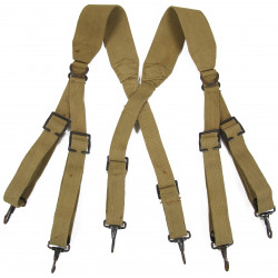 Suspenders, Belt, M-1936, British Made, 1943