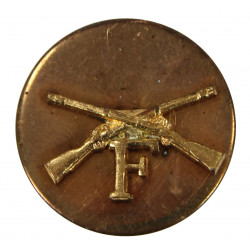 Disk, Collar, Infantry, F Company