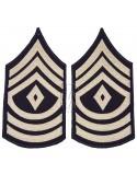 Grades en tissu de First Sergeant