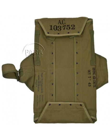 Carré dorsal T-5 pour harnais