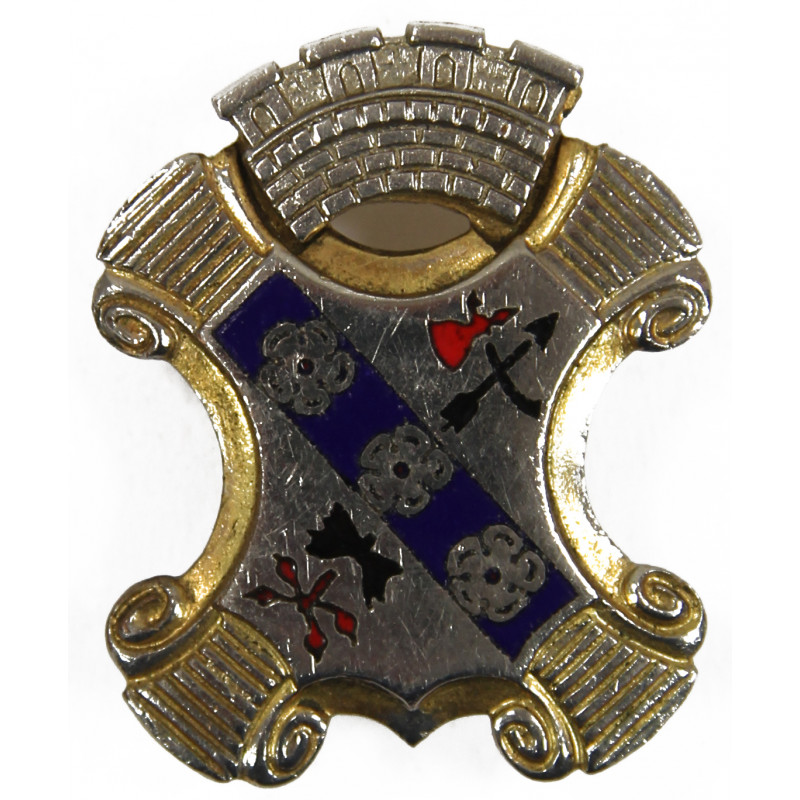 Distinctive Insignia, 8th Inf. Rgt., 4th Infantry Division, CB