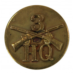 Disk, Collar, HQ Co., 3rd Inf. Rgt, 106th Infantry Division