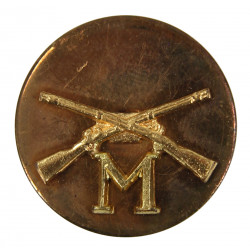 Disk, Collar, Infantry, M Company, SB