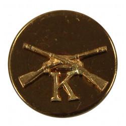 Disk, Collar, Infantry, K Company, SB
