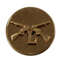 Disk, Collar, Infantry, L Company, Screw Back