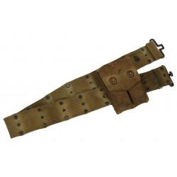 Belt, Pistol, M-1936 + Pouch, Magazine, Normandy