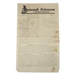 Verordnungsblatt, Militärbefehlshaber in Frankreich, 1941