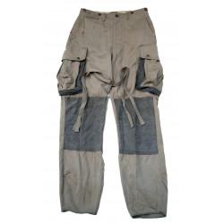 Trousers, Parachutist, M-1942, reinforced, Normandy, 101st Abn. Div., Identified