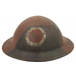Helmet, M-1917, 37th Infantry Division, Camouflaged, Meuse-Argonne