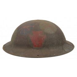 Helmet, M-1917, 28th Infantry Division, Camouflaged, Meuse - Argonne