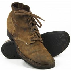 Shoes, Combat, Roughout, size 8 D