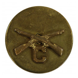 Disk, Collar, Infantry, C Company