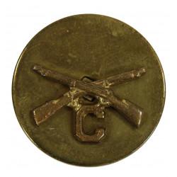 Disk, Collar, Infantry, C Company