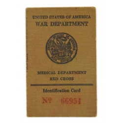 Card, Identification, 1st type, Medical Department