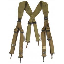 Suspenders, Belt, M-1936, Taped, Normandy