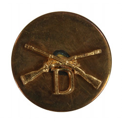 Disk, Collar, Infantry, D Company, SB