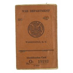 Card, Identification, 1st type, USMC