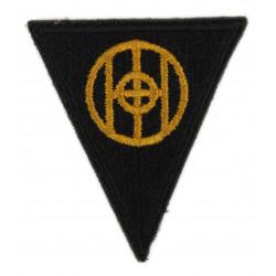 Patch, shoulder, 83rd Infantry Division, Green Back, 1943