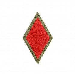 Patch, 5th Infantry Division, OD border, Green back, 1943