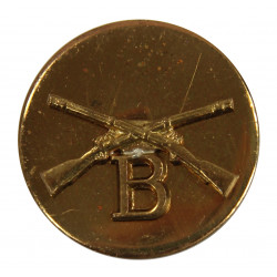 Disk, Collar, Infantry, B Company