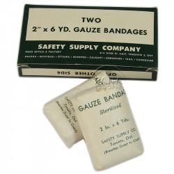 Bandage, Gauze, Sterilized, Safety Supply Co., Toronto