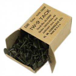 Box, 100 Tacks, US Army, 1943