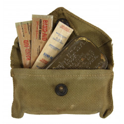 Pouch, First Aid, with First Aid Packet,