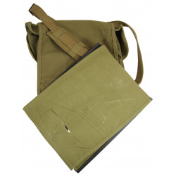 Case, Canvas, Dispatch, M-1938, US Army, General Shoe Corp., 1943, ID