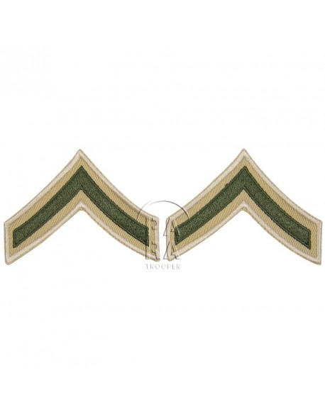 Rank, Insignia, Private First Class, Summer