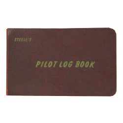 Book, Log, B-24 Pilot, 466th Bombardment Group, 8th Air Force, D-DAY