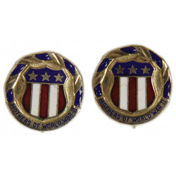 Earrings, Mothers of WWII, Sweetheart