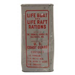 Can, Life Boat and Life Raft Rations, Coast Guard
