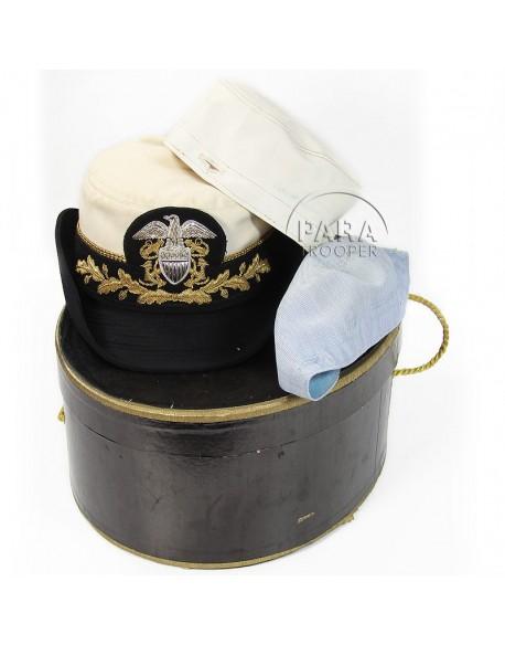 Chapeau officier superieur WAVE