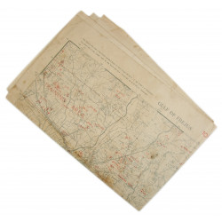 Map, Gulf of Frejus, TOP SECRET BIGOT, Dragoon Operation