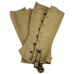 Leggings, Canvas, USMC, Size 3, named