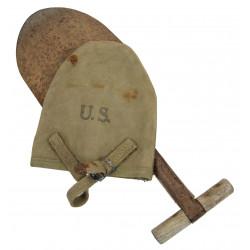 T-shovel, shortened, M-1910, 1942