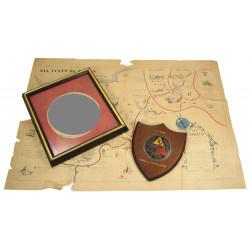 Flag, German, War souvenir, 2nd Armored Division