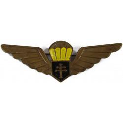 Brevet de parachutiste, Forces Françaises Libres