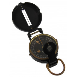 Compass, Gurley, with OD Canvas Pouch