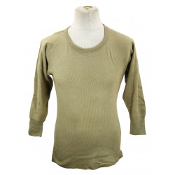 T-shirt, US Army, OD, manches longues