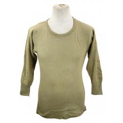 Undershirt, US Army, cotton/Wool, OD